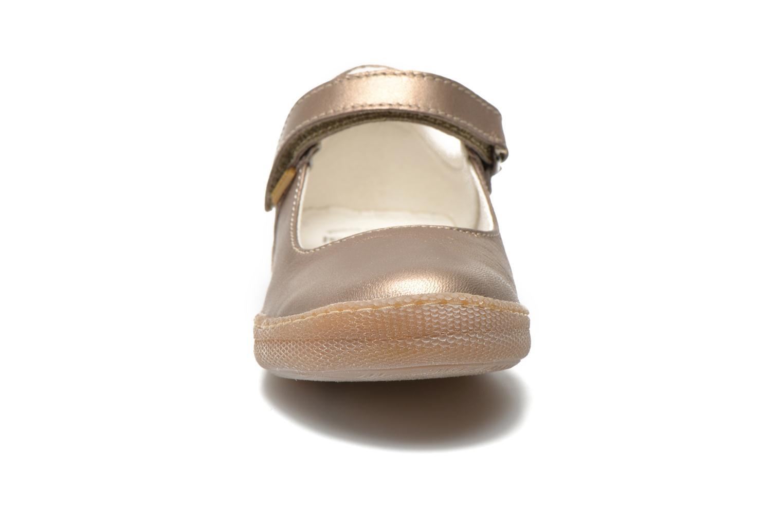 Ballerines Primigi MORINE 1-E Or et bronze vue portées chaussures