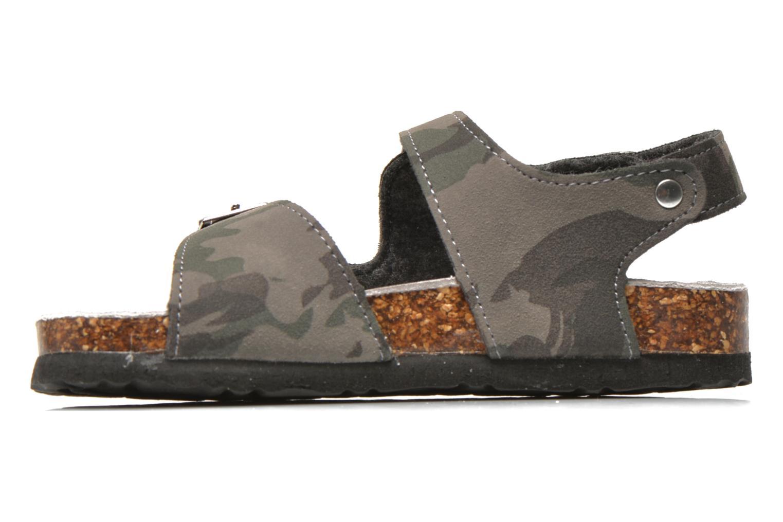 Sandalen Colors of California Bio Matt sandal grau ansicht von vorne