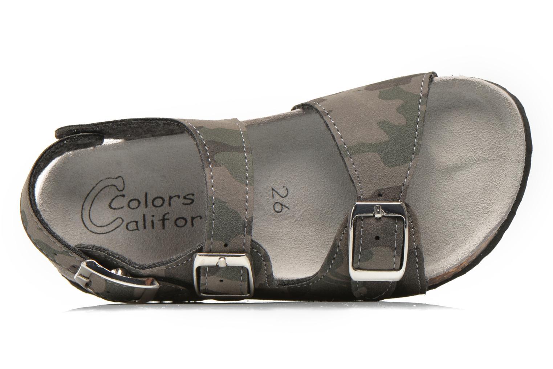 Sandalen Colors of California Bio Matt sandal grau ansicht von links