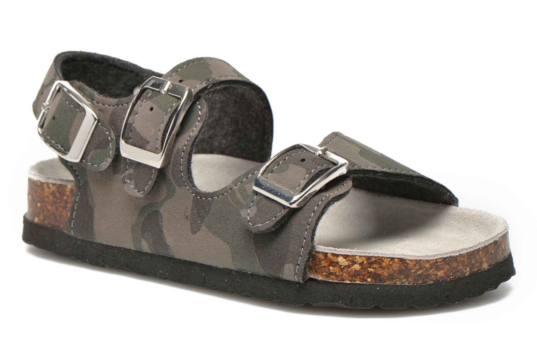 Sandalen Colors of California Bio Matt sandal grau detaillierte ansicht/modell