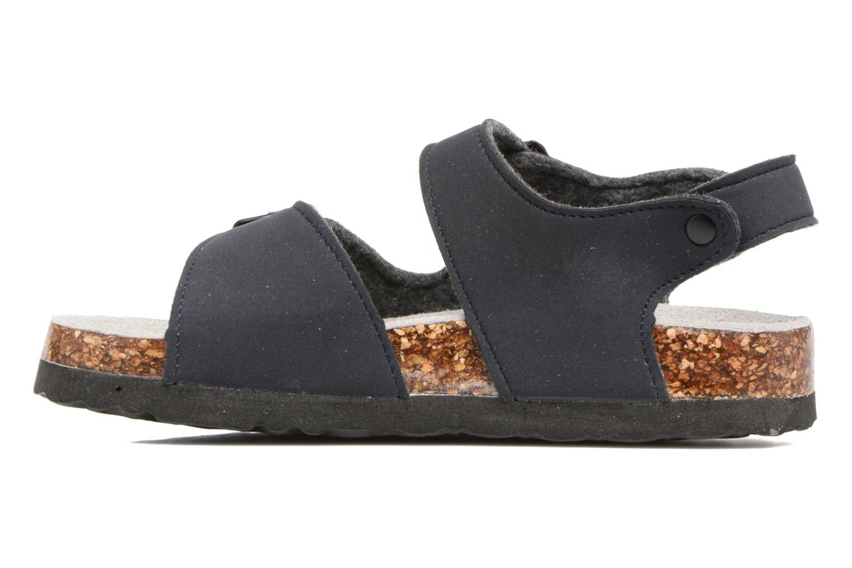 Sandalen Colors of California Bio Matt sandal blau ansicht von vorne