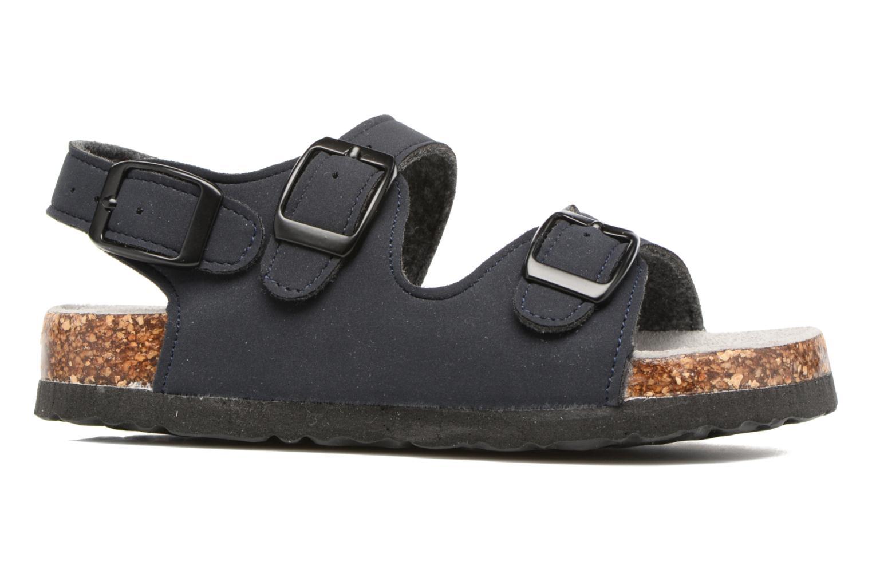 Sandalen Colors of California Bio Matt sandal blau ansicht von hinten