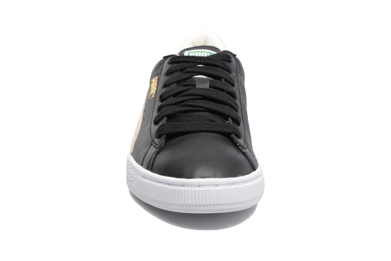 Baskets Puma Basket Classic Noir vue portées chaussures