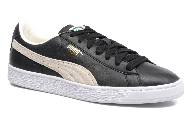 Black White Puma Basket Classic (Noir)