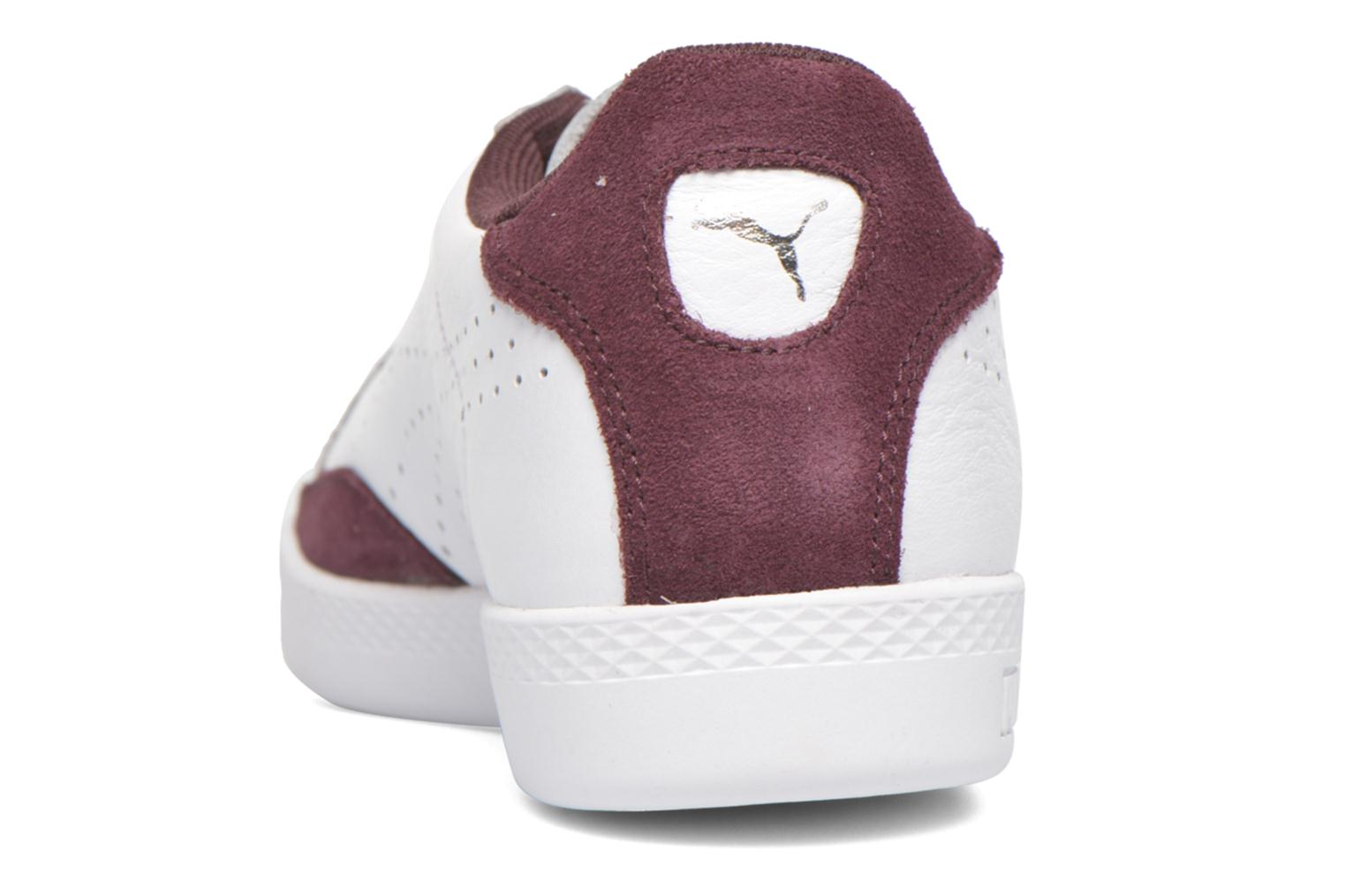 Baskets Puma Match Lo Basic Sports Wn's Blanc vue droite