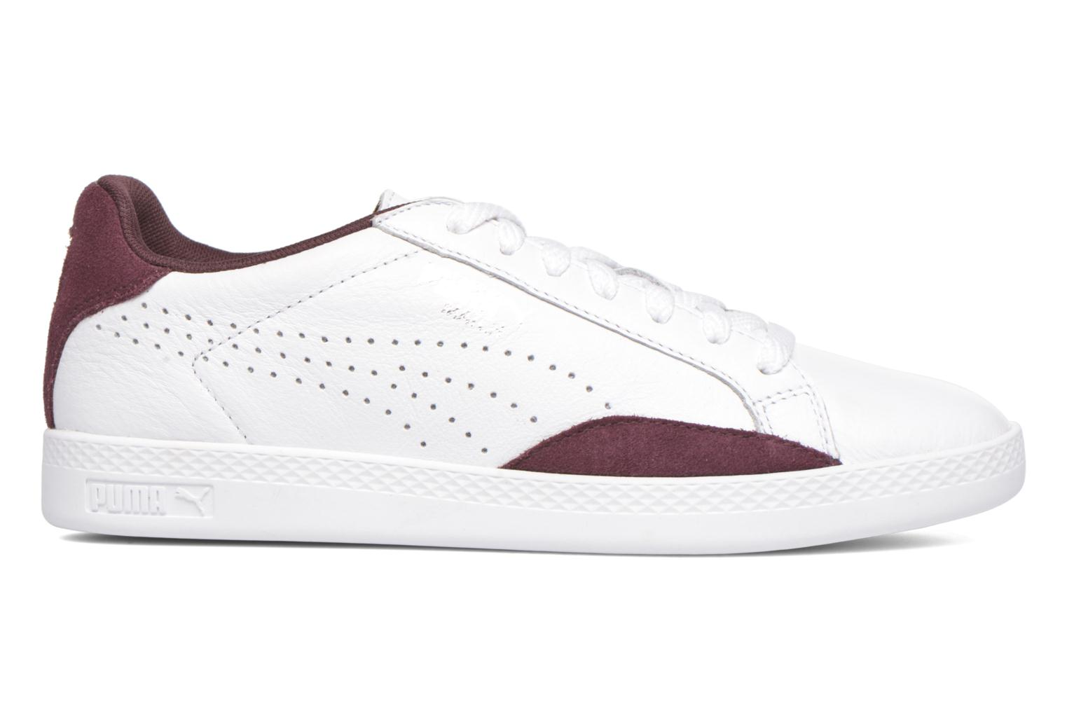 Baskets Puma Match Lo Basic Sports Wn's Blanc vue derrière
