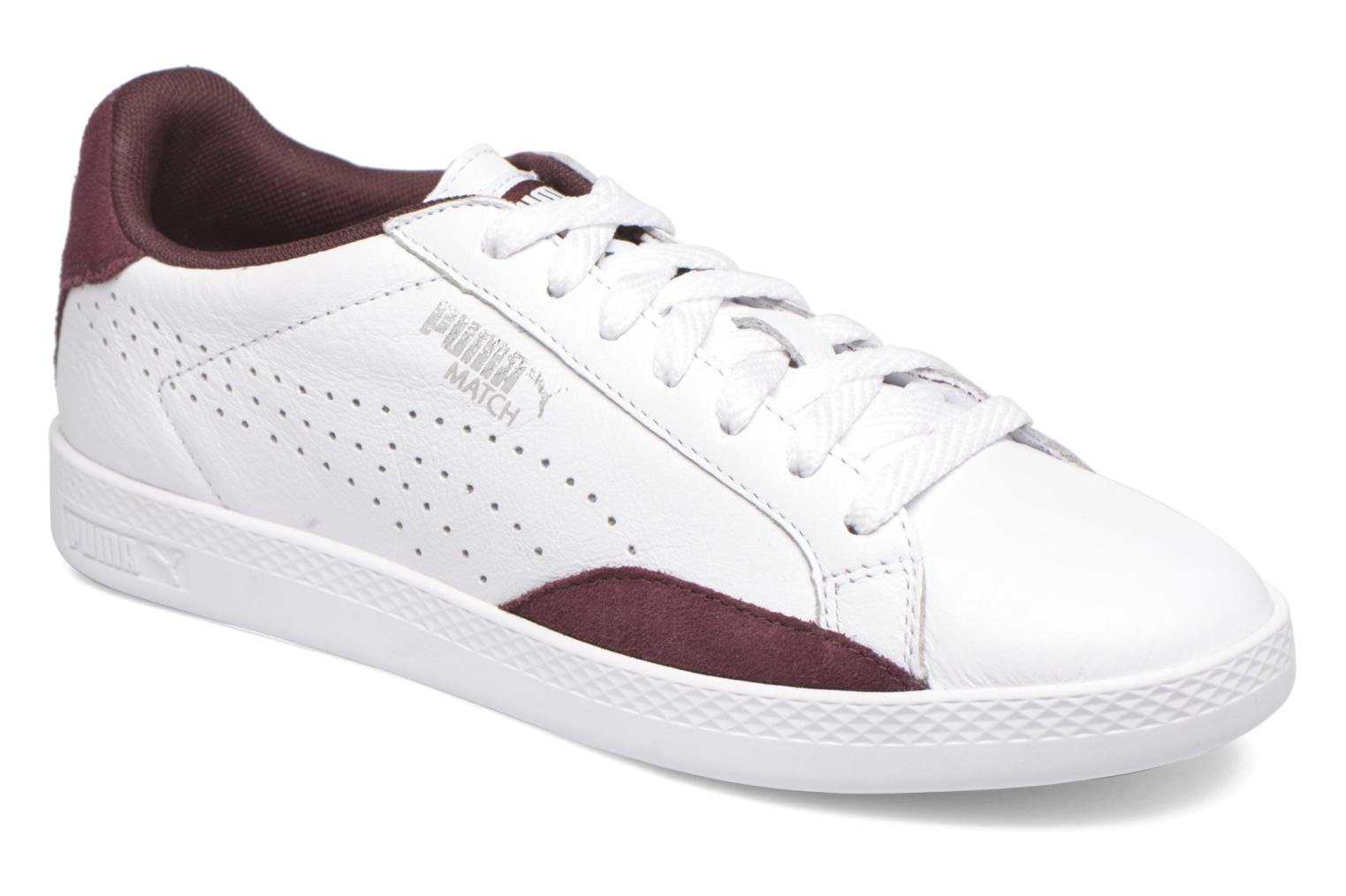 Baskets Puma Match Lo Basic Sports Wn's Blanc vue détail/paire