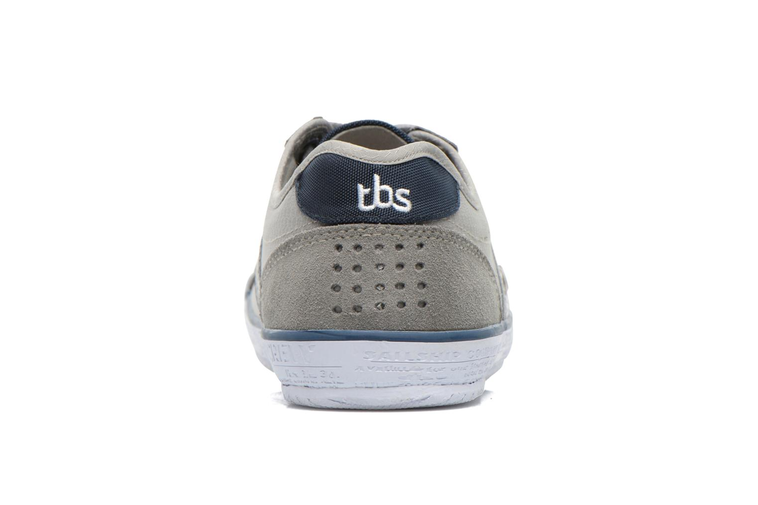 Trainers TBS Tornad Grey view from the right