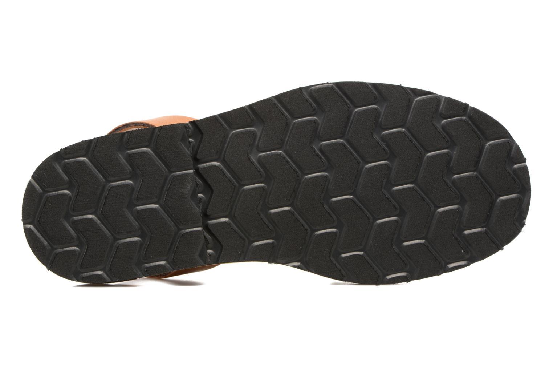 Sandals MINORQUINES Avarca Beige view from above