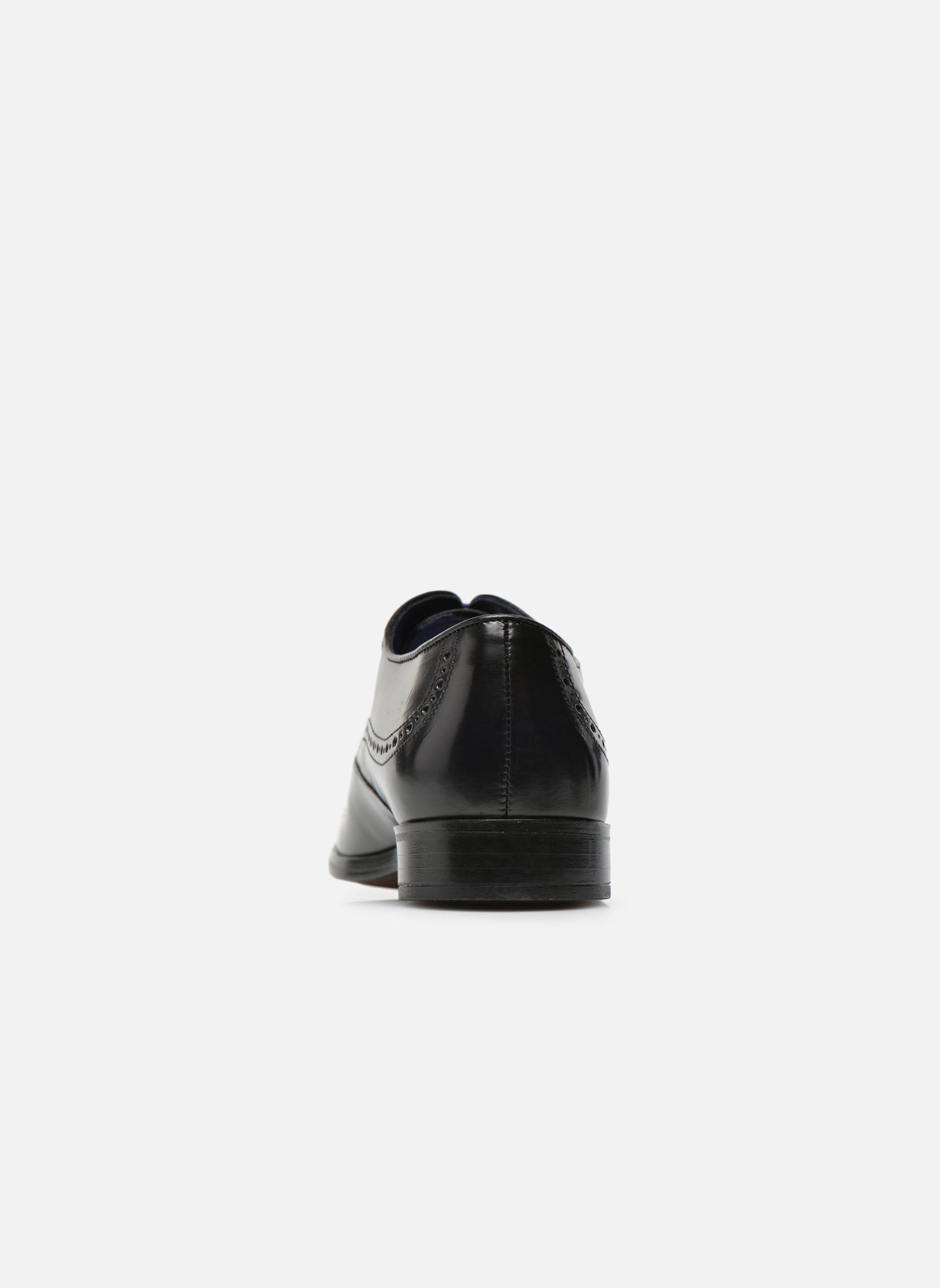 Lace-up shoes Azzaro Depeche Black view from the right
