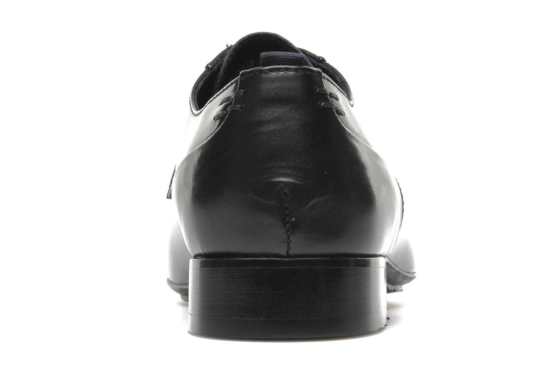 Chaussures à lacets Azzaro Bordian Noir vue droite