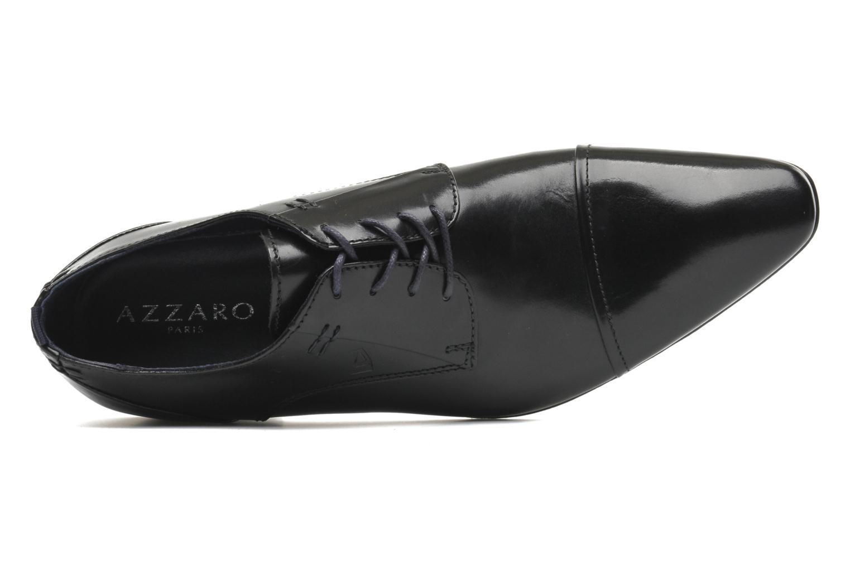 Chaussures à lacets Azzaro Bordian Noir vue gauche
