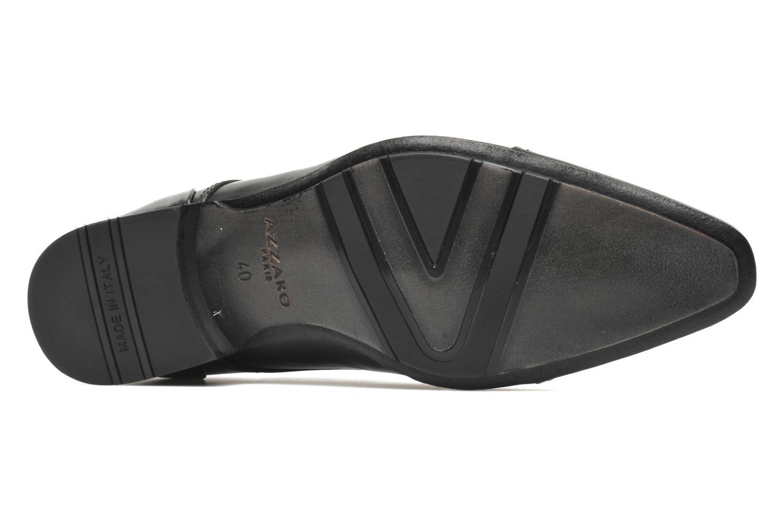 Chaussures à lacets Azzaro Bordian Noir vue haut