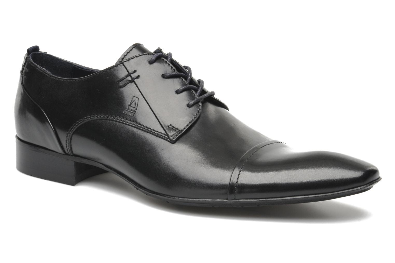 Chaussures à lacets Azzaro Bordian Noir vue détail/paire