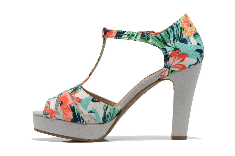 Sandales et nu-pieds Xti Ieva-29697 Multicolore vue face