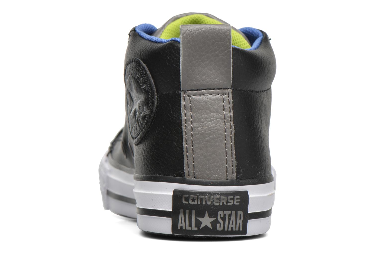 Baskets Converse Chuck Taylor All Star Street Mid Noir vue droite