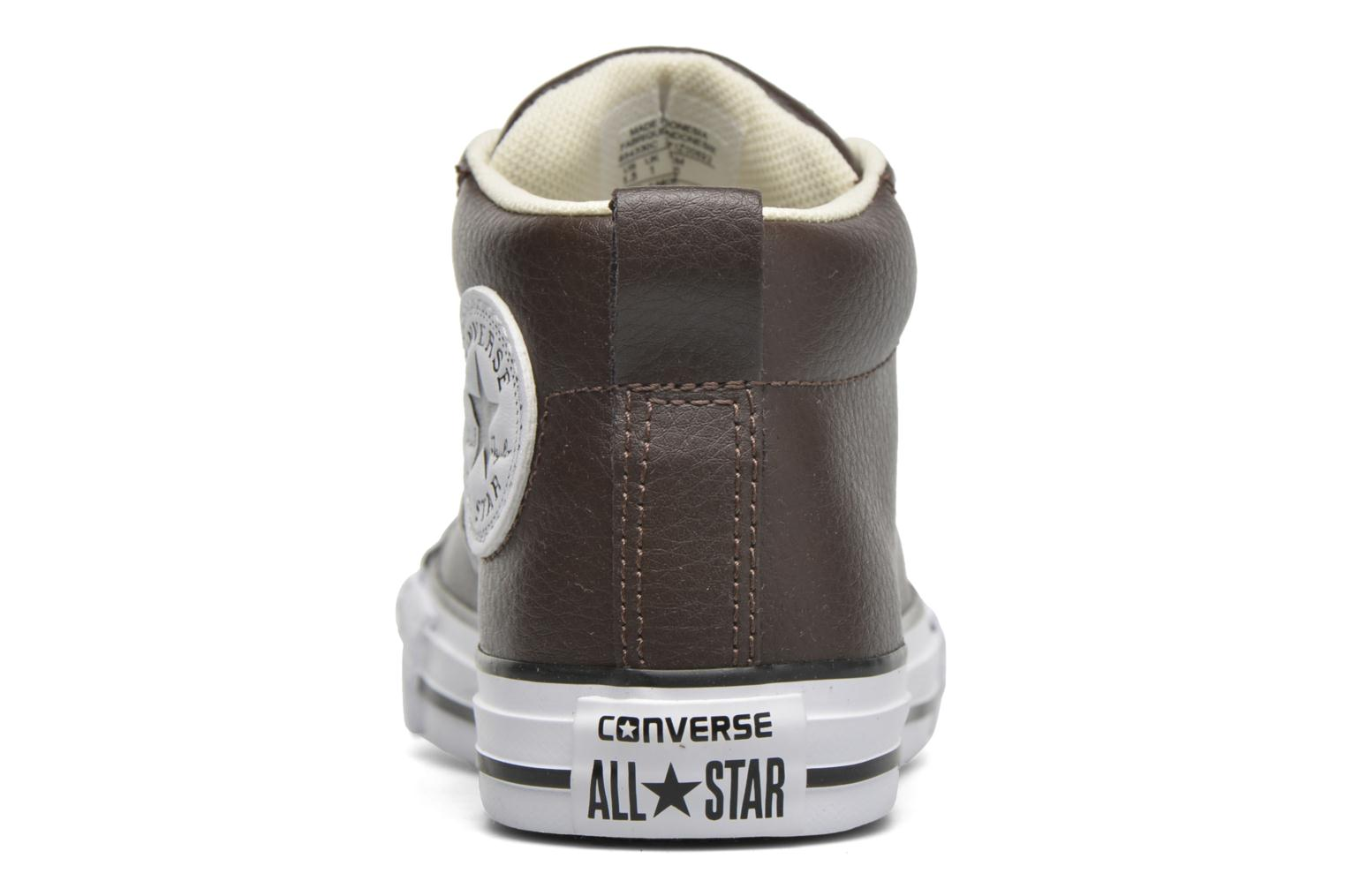 Baskets Converse Chuck Taylor All Star Street Mid Marron vue droite