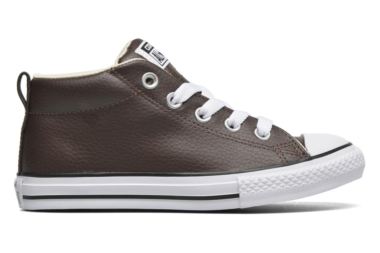 Sneakers Converse Chuck Taylor All Star Street Mid Bruin achterkant
