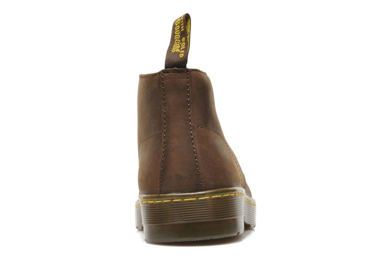 Chaussures à lacets Dr. Martens Cabrillo Marron vue droite
