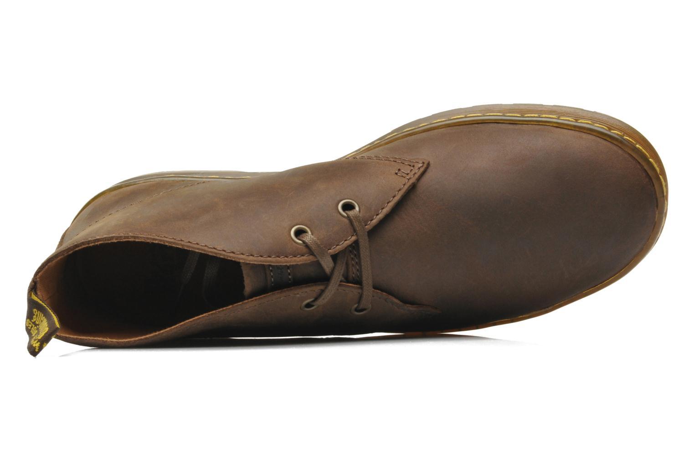 Chaussures à lacets Dr. Martens Cabrillo Marron vue gauche