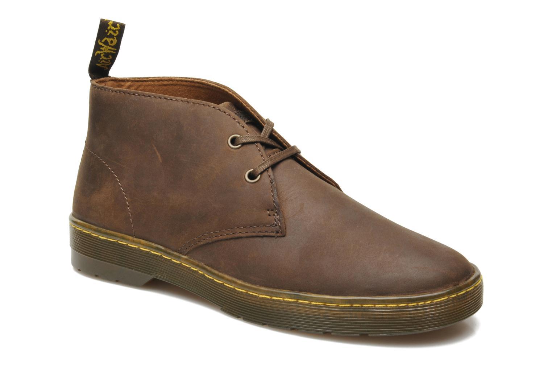 Snøresko Dr. Martens Cabrillo Brun detaljeret billede af skoene