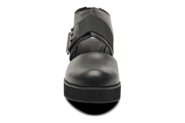 Sandales et nu-pieds Shellys London Costain Noir vue portées chaussures