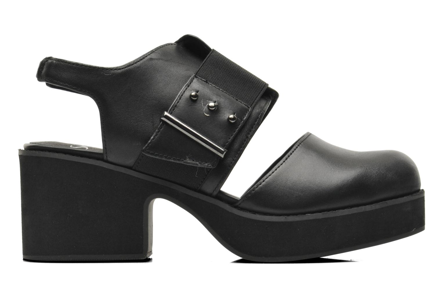 Sandals Shellys London Costain Black back view