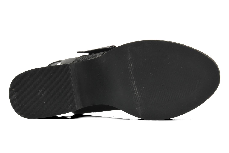 Sandales et nu-pieds Shellys London Costain Noir vue haut