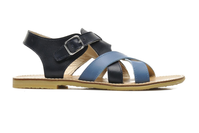 Sandales et nu-pieds Manuela de Juan Ben Bleu vue derrière