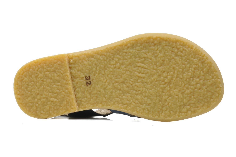 Sandales et nu-pieds Manuela de Juan Ben Bleu vue haut