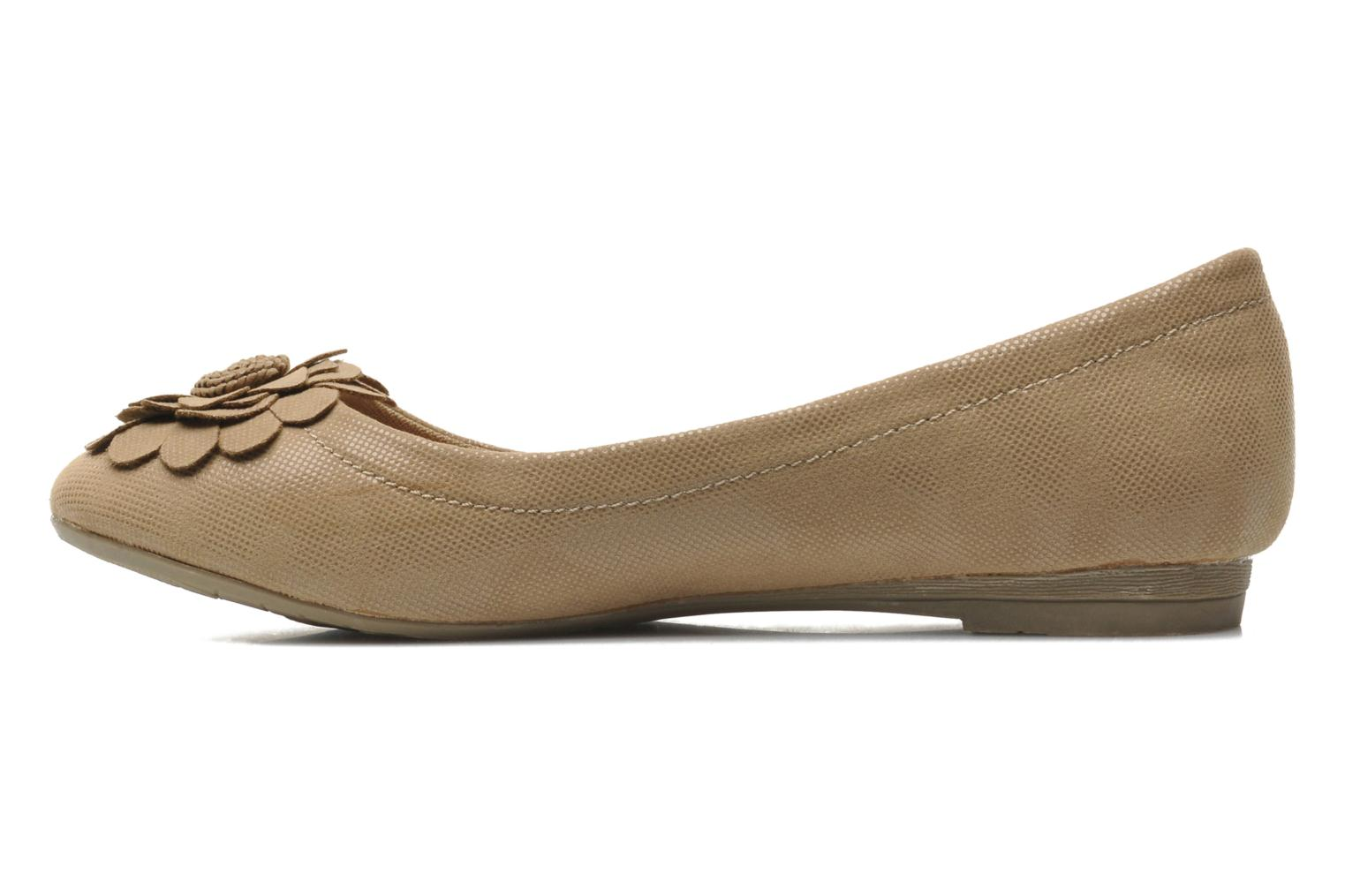 Ballet pumps Refresh Kourwato 2 Beige front view