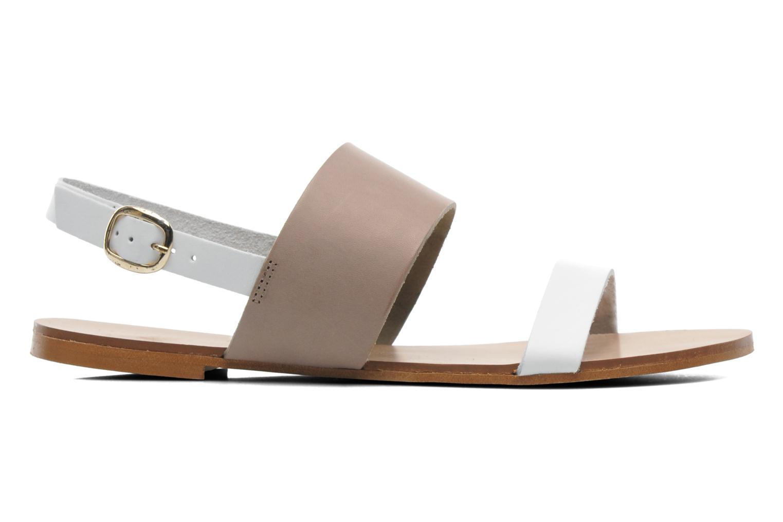Sandales et nu-pieds Georgia Rose Lulzy Beige vue derrière