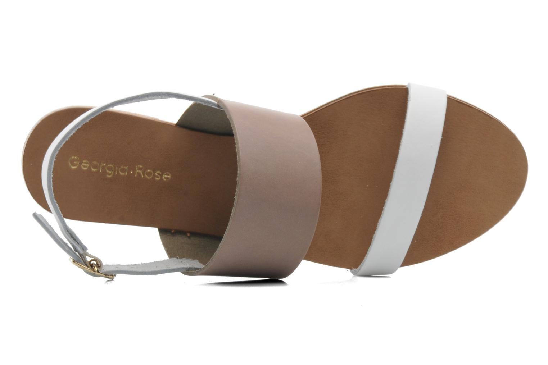 Sandales et nu-pieds Georgia Rose Lulzy Beige vue gauche
