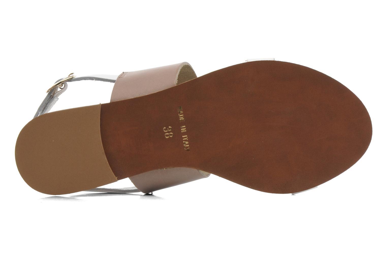 Sandales et nu-pieds Georgia Rose Lulzy Beige vue haut