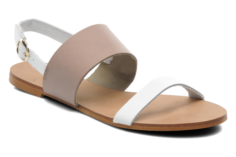 Sandales et nu-pieds Georgia Rose Lulzy Beige vue détail/paire
