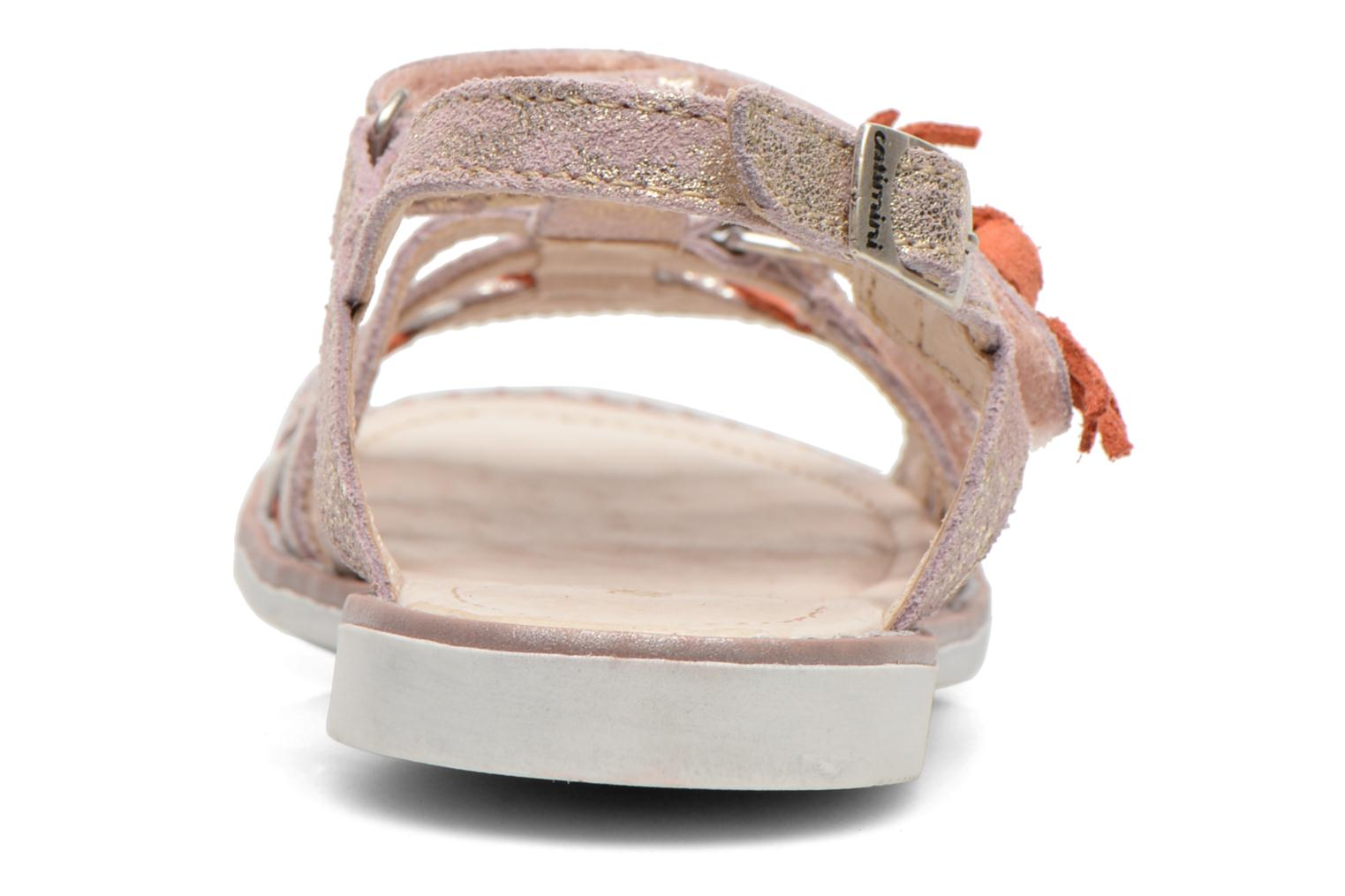 Sandals Catimini Chouette Pink view from the right