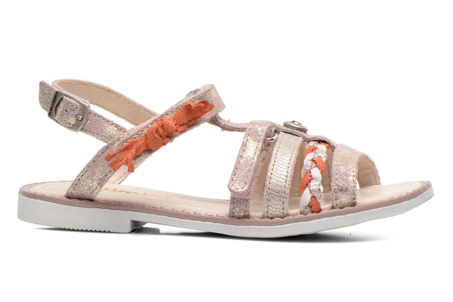 Sandals Catimini Chouette Pink back view
