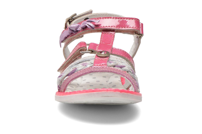 Sandales et nu-pieds Catimini Chouette Rose vue portées chaussures