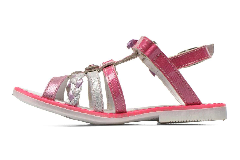 Sandales et nu-pieds Catimini Chouette Rose vue face