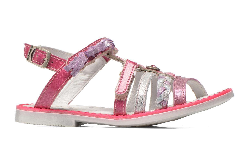 Sandales et nu-pieds Catimini Chouette Rose vue derrière