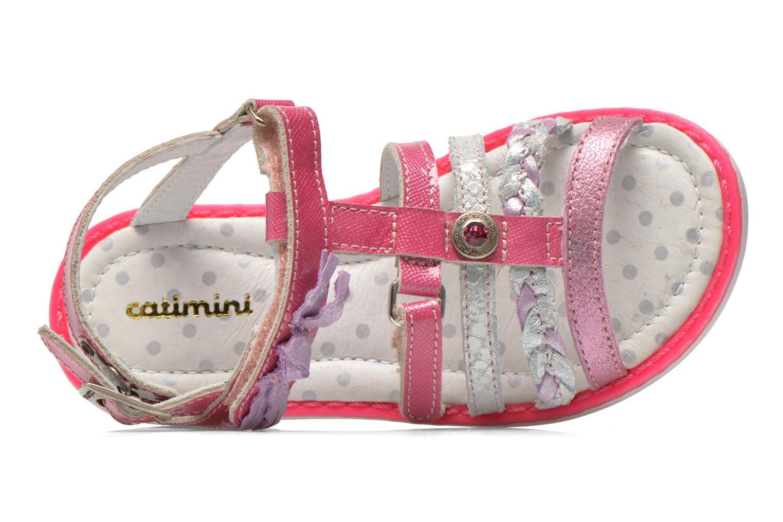 Sandales et nu-pieds Catimini Chouette Rose vue gauche