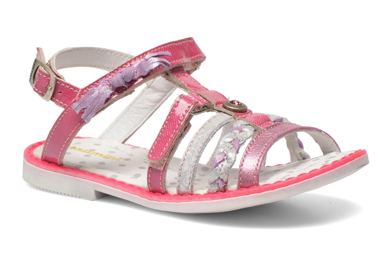 Sandales et nu-pieds Catimini Chouette Rose vue détail/paire