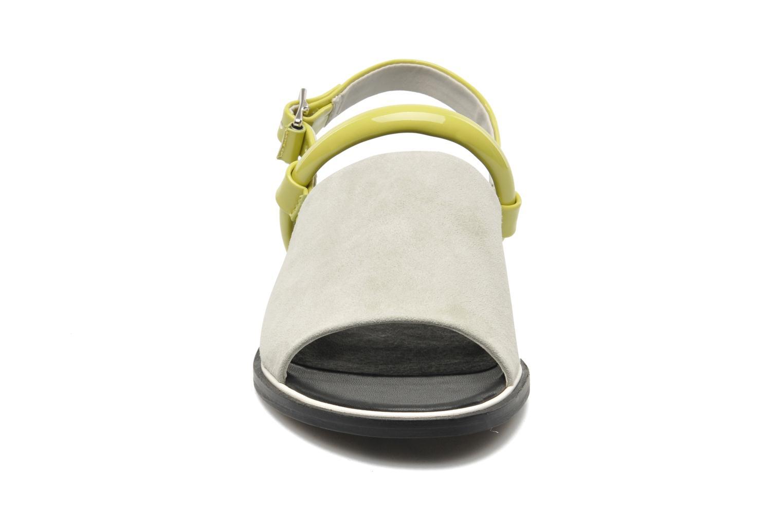 Sandalen Shellys London SALVANT grau schuhe getragen