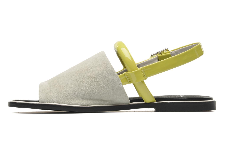 Sandalen Shellys London SALVANT grau ansicht von vorne