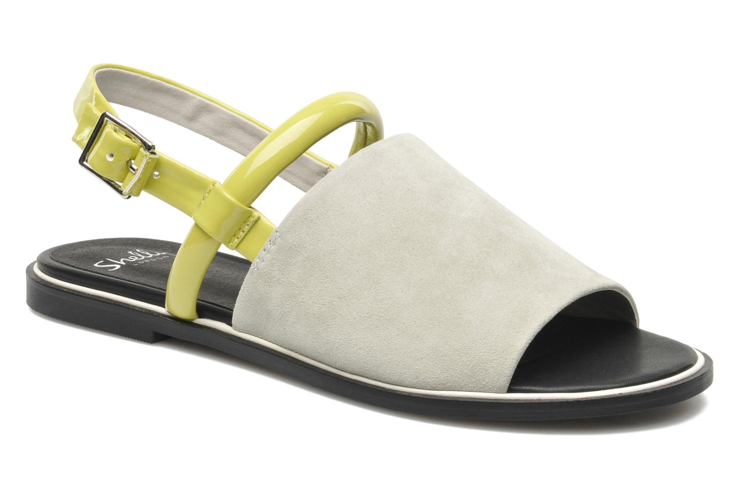 Sandals Shellys London SALVANT Grey detailed view/ Pair view