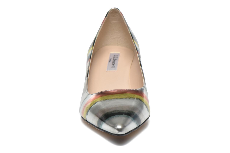 Escarpins L.K. Bennett Minu Argent vue portées chaussures