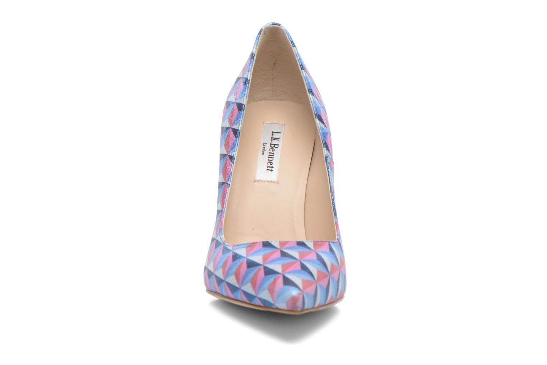 Escarpins L.K. Bennett Fern Multicolore vue portées chaussures