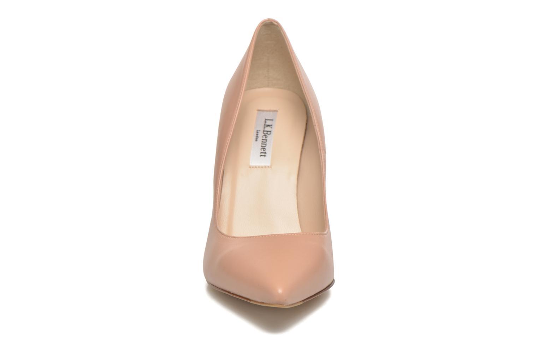 High heels L.K. Bennett Fern Beige model view