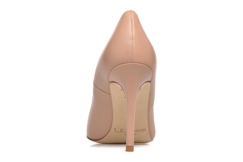 High heels L.K. Bennett Fern Beige view from the right