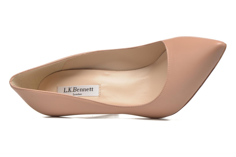 High heels L.K. Bennett Fern Beige view from the left
